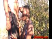 Big titted African slut nipple tortured and roughly dee