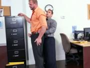 Straight gay sex on drugs video First day at work