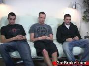 Cute cj austin and damien gay threesome gay sex