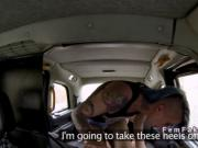 Blonde lesbo wrestler fucks cab driver
