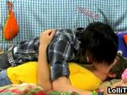 Cute Tyler Bolt and Josh Bensan gay fucking on bed 1 by