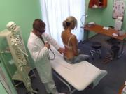Doctor fucks hot tattooed milf