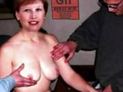 Groped wife tits Francois femme nue pelote