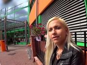 Charming czech chick gets seduced in the mall and fucke