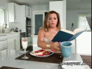 Busty Babe Alessandra Miller Has BFs Cock For Breakfast