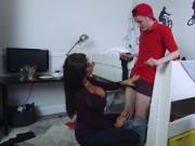 associate's teen catches mom fucking milfcomrade kitche
