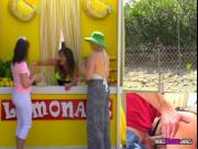 Lemonade Vendor Charlotte Cross Gets Boned From Behind