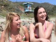 Several teens in a hot group orgy