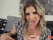 Gorgeous MILF satisfied with the length of that meat gu