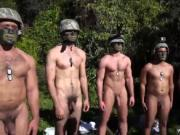 Hot muscular military men and russian military nude men