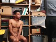 Black gay cop nude Young, ebony male, no ID, 5'7 was