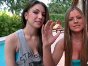 Three smoking hot lesbian babes are getting kinky and t