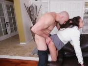 Spanked in front of partners Babysitters enjoy rock-har