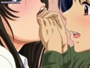 Admirable anime vixens teasing cock