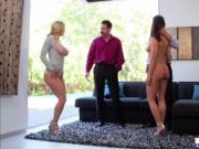 Slutty Alexis Fawx gets naughty with Adriana Chechik in