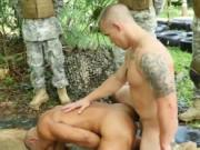 Gay hardcore army gangbang and guys sex video Jungle b