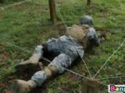 Soldiers end their millitary excercise