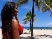 Ebony Babe Moriah Mills Flaunts Her Perfect Body