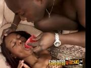 African cock star anally fuck over by case worker
