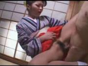 Japanese girl wearing yukata enjoy hot fun part 2