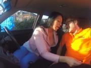Candy Kane gets deep fucking in the car