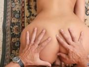 Teen fuck old man chill out with a hot super fucking Ta