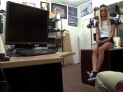 Blonde babe fucks Shawns cock for the remaining balance