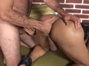 Young tranny enjoys a cock