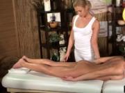 Milf massage therapist take advantage on her beautiful