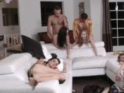 Slave girl blowjob first time New Year New Swap
