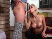 Huge cock guy anal bangs tranny burglar