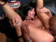 Lucky hot MILF given oral sex and hardcore pussy poundi