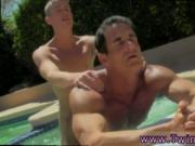 Fucking anal ass gay male porn video Daddy Poolside Pri