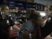 Self shot milf and blonde strip Chop Shop Owner Gets Sh