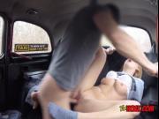 Redhead Jenny Manson Enjoys Taxi Drivers Big Cock
