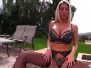 Blonde babe Lexi Lowe gets an interracial as fuck