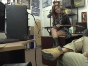 Wife amateur redhead Pawnstar meets a rockstar