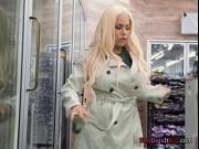 Hot Chick Luna Star Gets Caught Masturbating