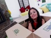 Petite Cameron Canela is a Blowjob Queen and tries out
