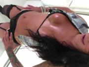 Trans Deborah Mastronelly gets her juicy ass banged by
