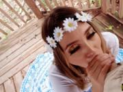 Teen Quinn Wilde swallows warm cumload after pounding