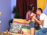 Hot babe gets anal drilled hard