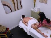 Asian Nari Park gives massage and banged