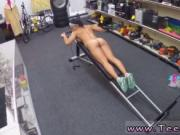 Latina bbc pov Muscular Chick Spreads Eagle For Cash!