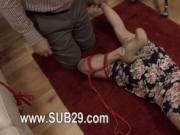 Extreme whore violently ana fucked and penetrated BDSM