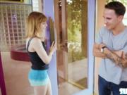 Disappointed petite chick Ariel Skye gets fucked by dud