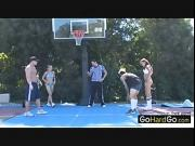 Hot game of b ball