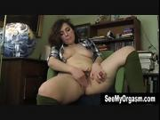Small Breasted Simone Masturbating