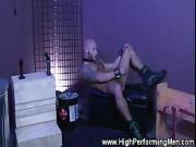 Gay hunk have a cock sucking good time together at home
