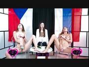 Orgasm World Championship Katya Clover VS Andrea Y